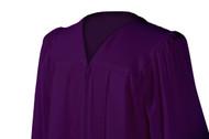 U-Dark Purple Gown