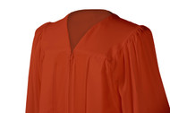 U-Burnt Orange Gown