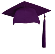U-Dark Purple Cap & Tassel