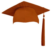 U-Burnt Orange Cap & Tassel