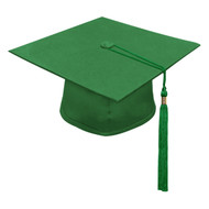 Green Freedom Cap & Tassel
