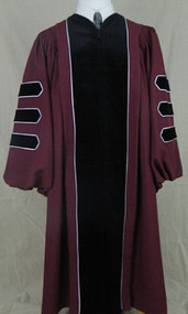 UMASS AMHERST Deluxe (Custom Tailored) Doctor Gown