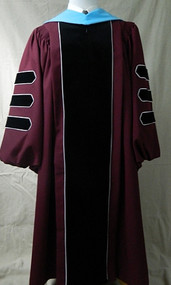 UMASS AMHERST Deluxe Doctor Hood Only
