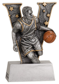 "5"" Male Basketball V Series Resin"