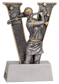 "5"" Female Golf V Series Resin"
