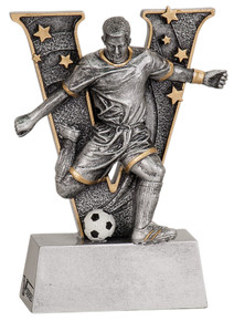 "5"" Male Soccer V Series Resin"