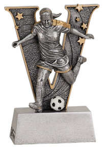 "5"" Female Soccer V Series Resin"