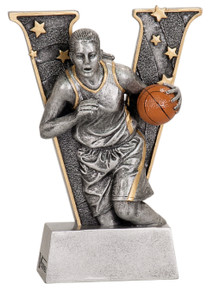 "6"" Female Basketball V Series Resin"