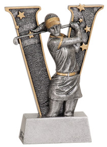 "6"" Female Golf V Series Resin"