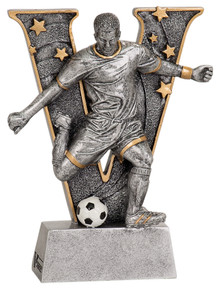 "6"" Male Soccer V Series Resin"