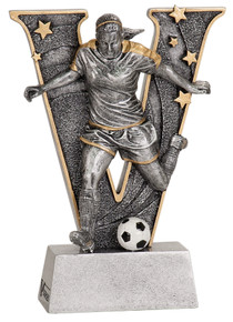 "6"" Female Soccer V Series Resin"