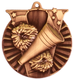 "2"" Bronze Cheer Victory Medal"