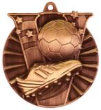 "2"" Bronze Soccer Victory Medal"