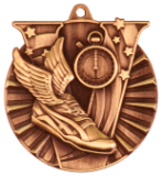 "2"" Bronze Track Victory Medal"
