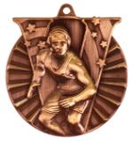 """2"""" Bronze Wrestling Victory Medal"""