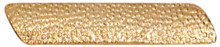 Gold Large Service Bar Metal Chenille Letter Insignia