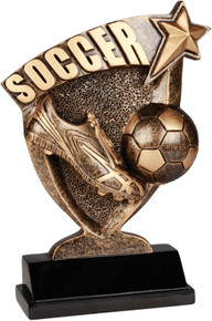 "7"" Soccer Broadcast Resin"
