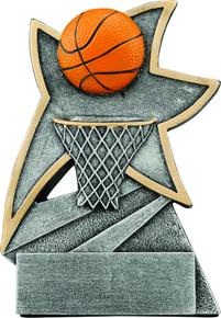 "5 1/2"" Basketball Jazz Star Resin"