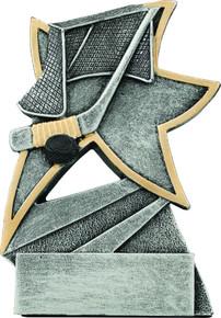 "5 1/2"" Hockey Jazz Star Resin"