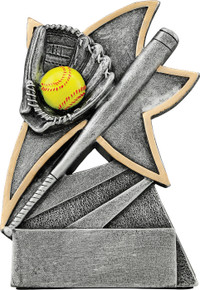 "5 1/2"" Softball Jazz Star Resin"