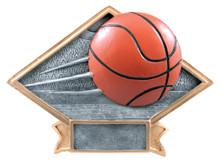 "6"" x 8 1/2"" Basketball Diamond Plate Resin"