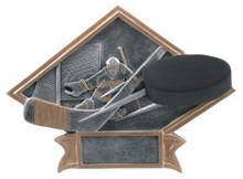 """6"""" x 8 1/2"""" Hockey Diamond Plate Resin"""
