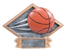 "4 1/2"" x 6"" Basketball Diamond Plate Resin"