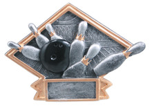 "4 1/2"" x 6"" Bowling Diamond Plate Resin"