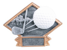 "4 1/2"" x 6"" Golf Diamond Plate Resin"
