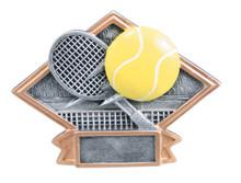 """4 1/2"""" x 6"""" Tennis Diamond Plate Resin"""