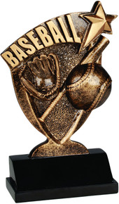 "6"" Baseball Broadcast Resin"