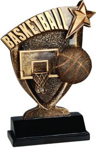 "7"" Basketball Broadcast Resin"