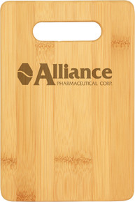 """9"""" x 6"""" Bamboo Bar Cutting Board"""