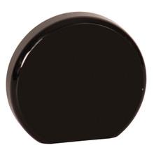 "3 1/2"" Black Acrylic Circle"