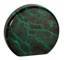 "3 1/2"" Green Marble Acrylic Circle"
