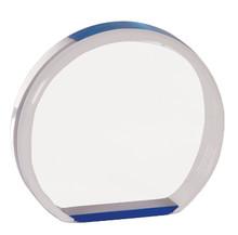 "3 1/2"" Blue Acrylic Circle"