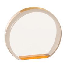 "3 1/2"" Gold Acrylic Circle"