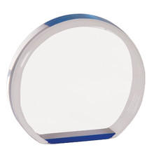 "5 1/2"" Blue Acrylic Circle"