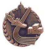 "1 3/4"" Bronze Track Millennium Medal"