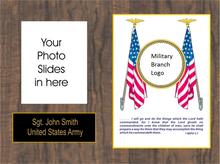 8x10 Military Plaque