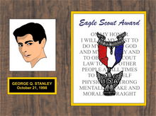 8x10 Eagle Scout Plaque
