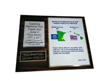 [2 Mission] 8x10 Full Color Missionary Plaque