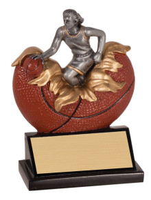 "5 1/4"" Female Basketball Xploding Resin"
