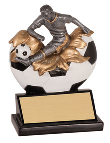"5 1/4"" Male Soccer Xploding Resin"