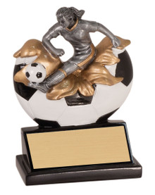 "5 1/4"" Female Soccer Xploding Resin"