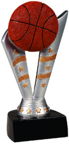 "6 1/2"" Fanfare Basketball Resin"