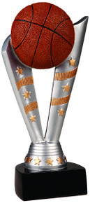 "8"" Fanfare Basketball Resin"