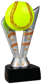 "6 1/2"" Fanfare Softball Resin"