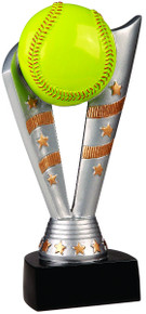 "8"" Fanfare Softball Resin"