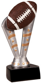 "6 1/2"" Fanfare Football Resin"